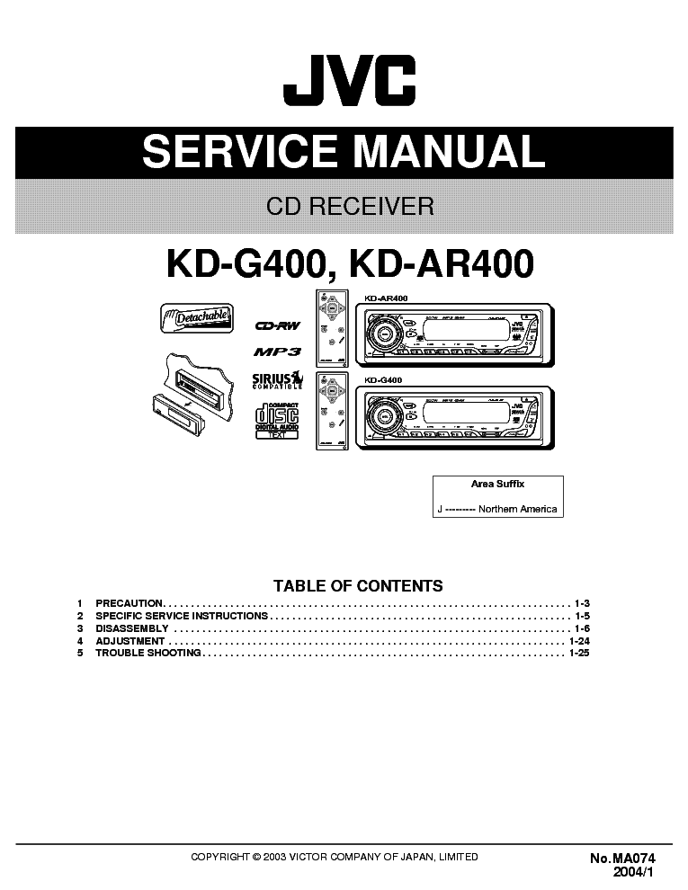 jvc car audio wiring diagram kd g342