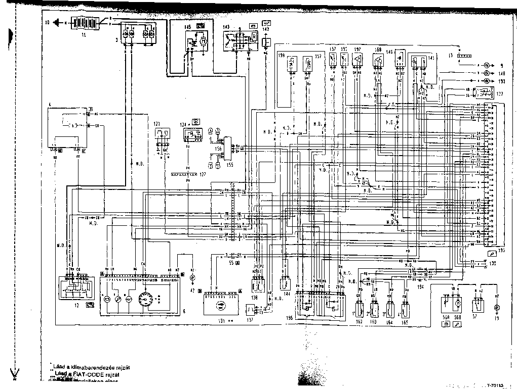 fiat bravo fuse box diagram