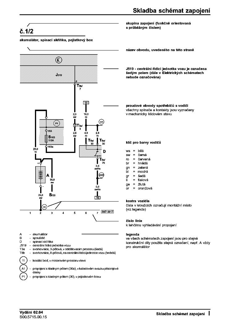 skoda octavia 2012 wiring diagram