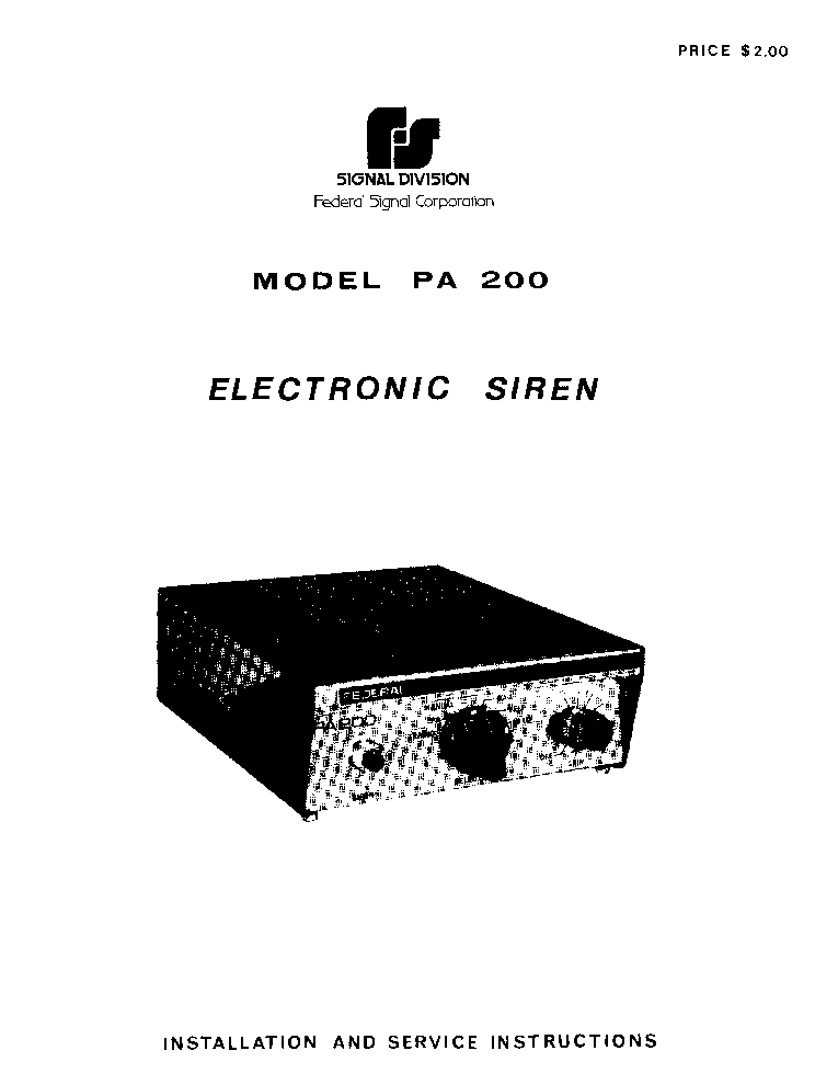 federal signal vector lightbar wiring diagram