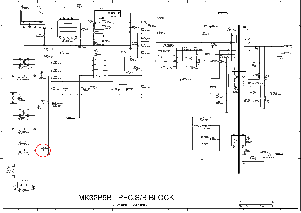 led tv panel wiring diagram