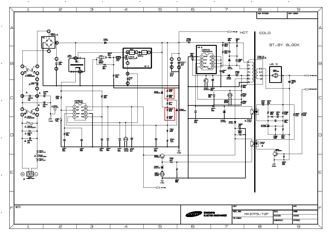 block diagrams of tv repairs for beginners