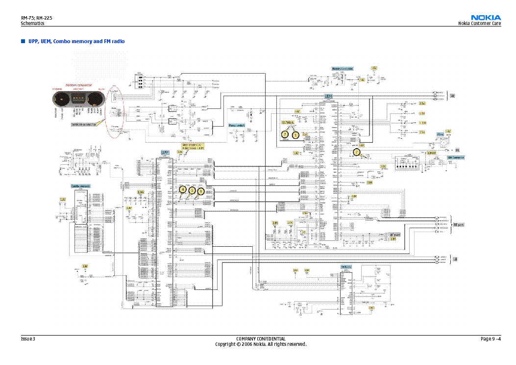 nokia 225 schematic diagram