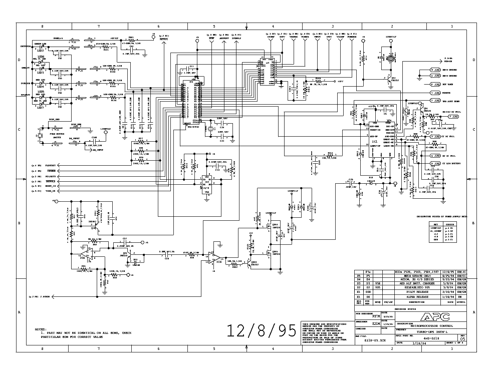 ups mge ups circuit diagram