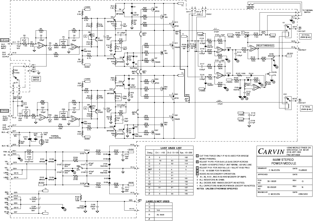 carvin legacy 212 schematic
