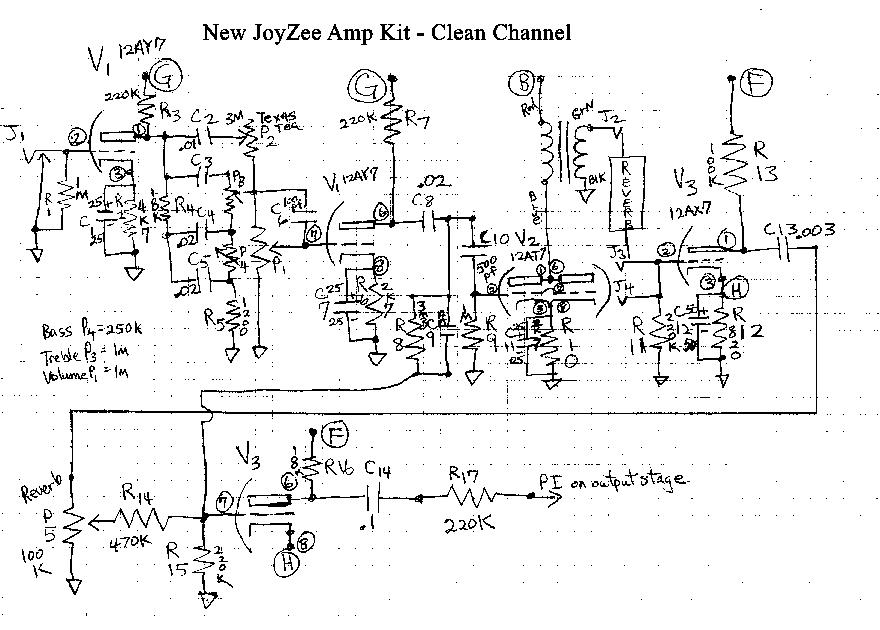 kendrick amp schematics
