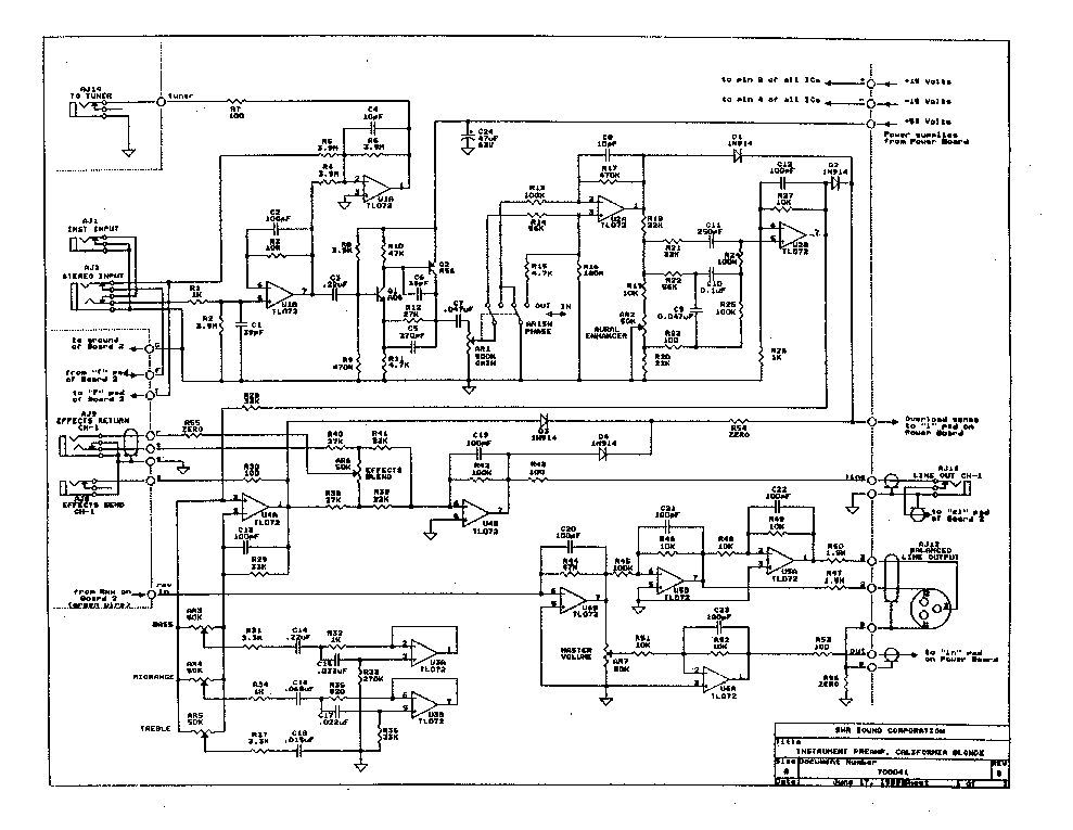 pignose amp wiring diagram