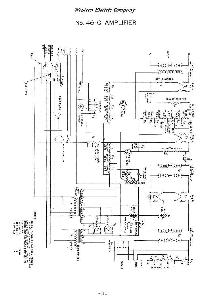 open tube electrical