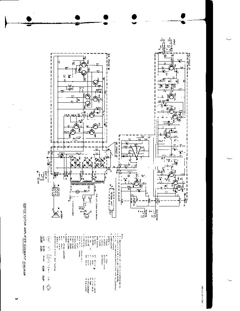 yamaha amplifier schematics