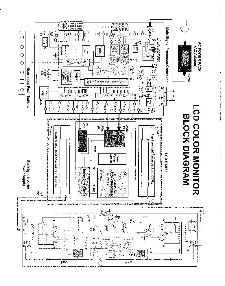 aoc lcd monitor 786ls service manual