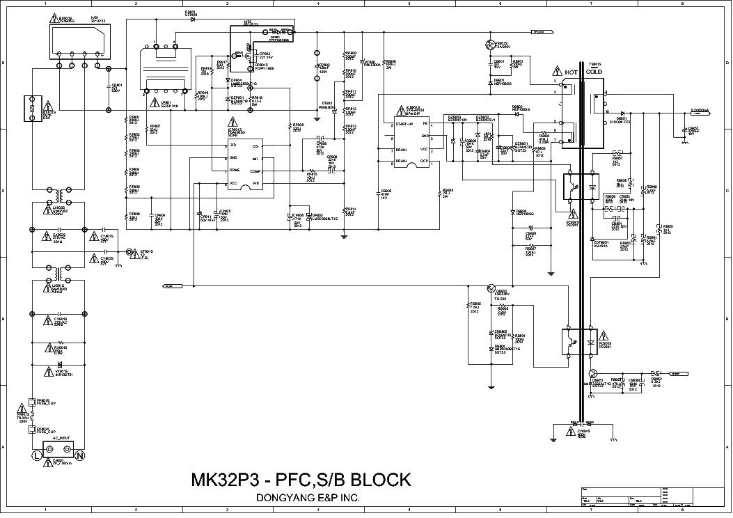 tv circuit board diagram repair pdf