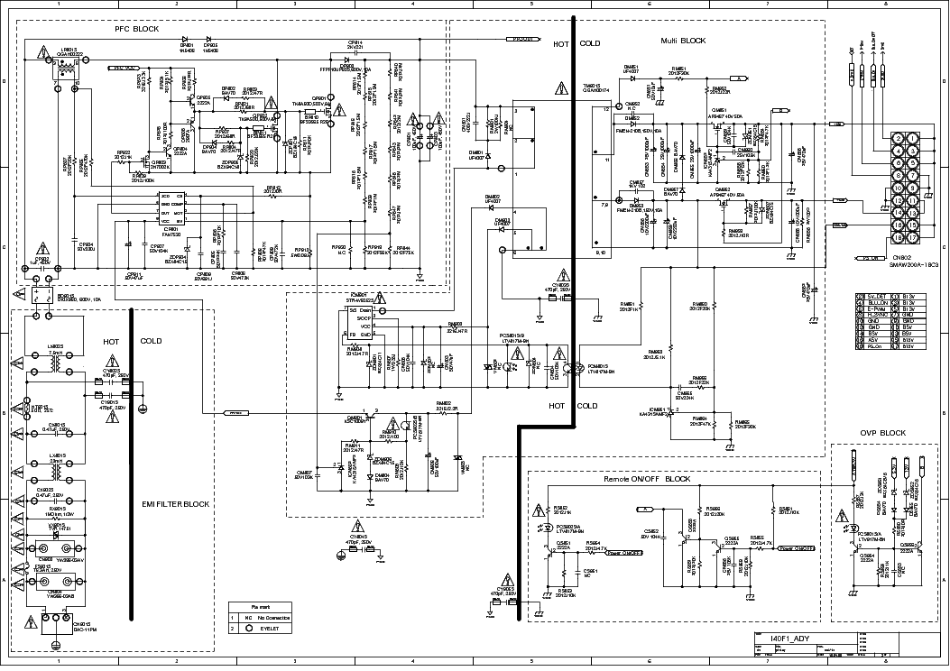 samsung la32b350f1 schematic diagram