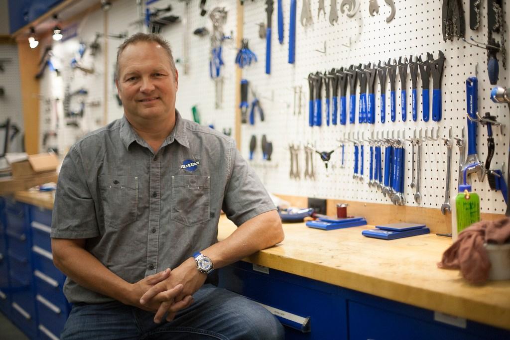 Park Tool CEO Eric Hawkins. Photo: David Pierini/Element.ly
