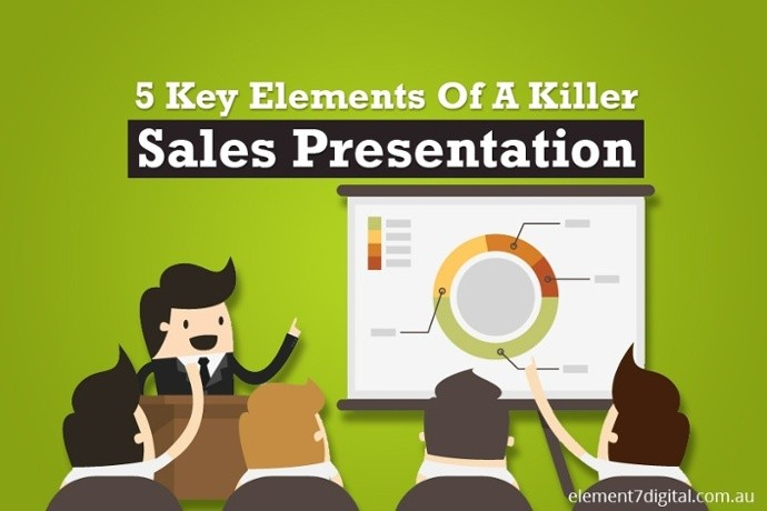 5 Key Elements Of A Killer Sales Presentation - Web Development - sales presentation