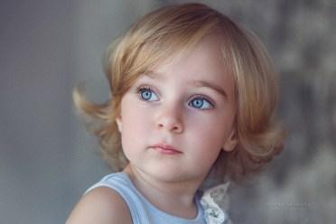 Детский портрет в студии