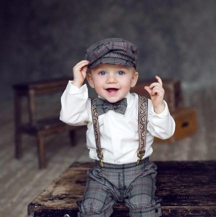 Фотосессия ребенка в студии
