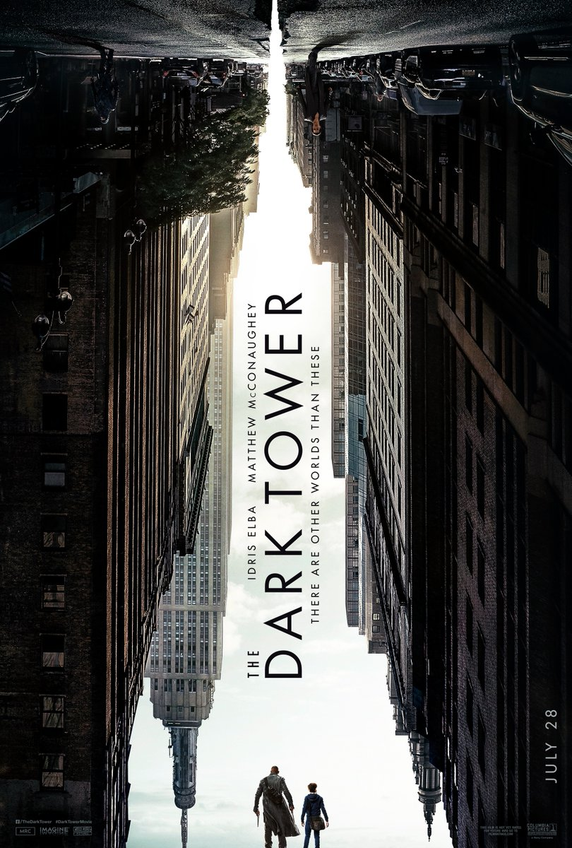 Idris Elba Films Dark Tower Scenes With Tom Taylor As Jake Review The Dark Tower 2017 Elena Square Eyes