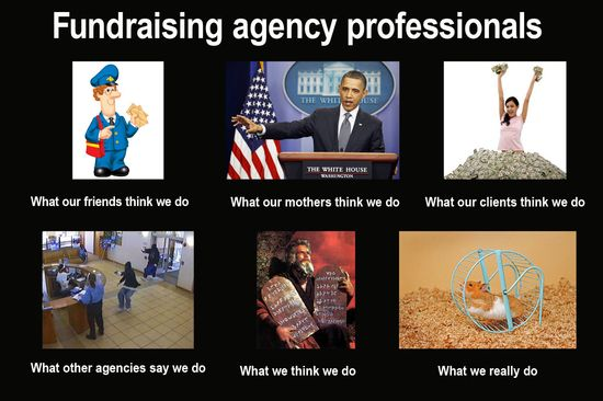 fundraising agency professional