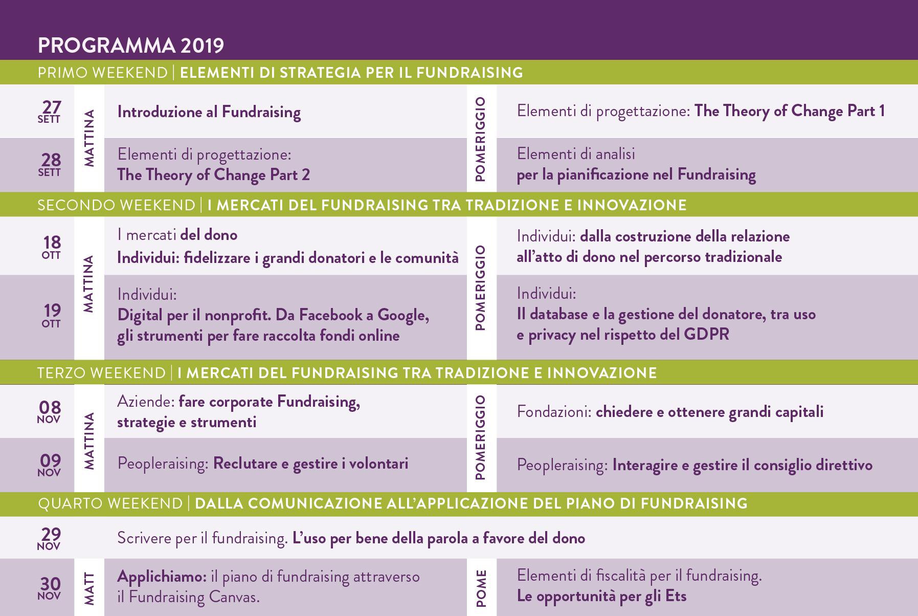 SFUN CARTOLINA PROGRAMMA 2019