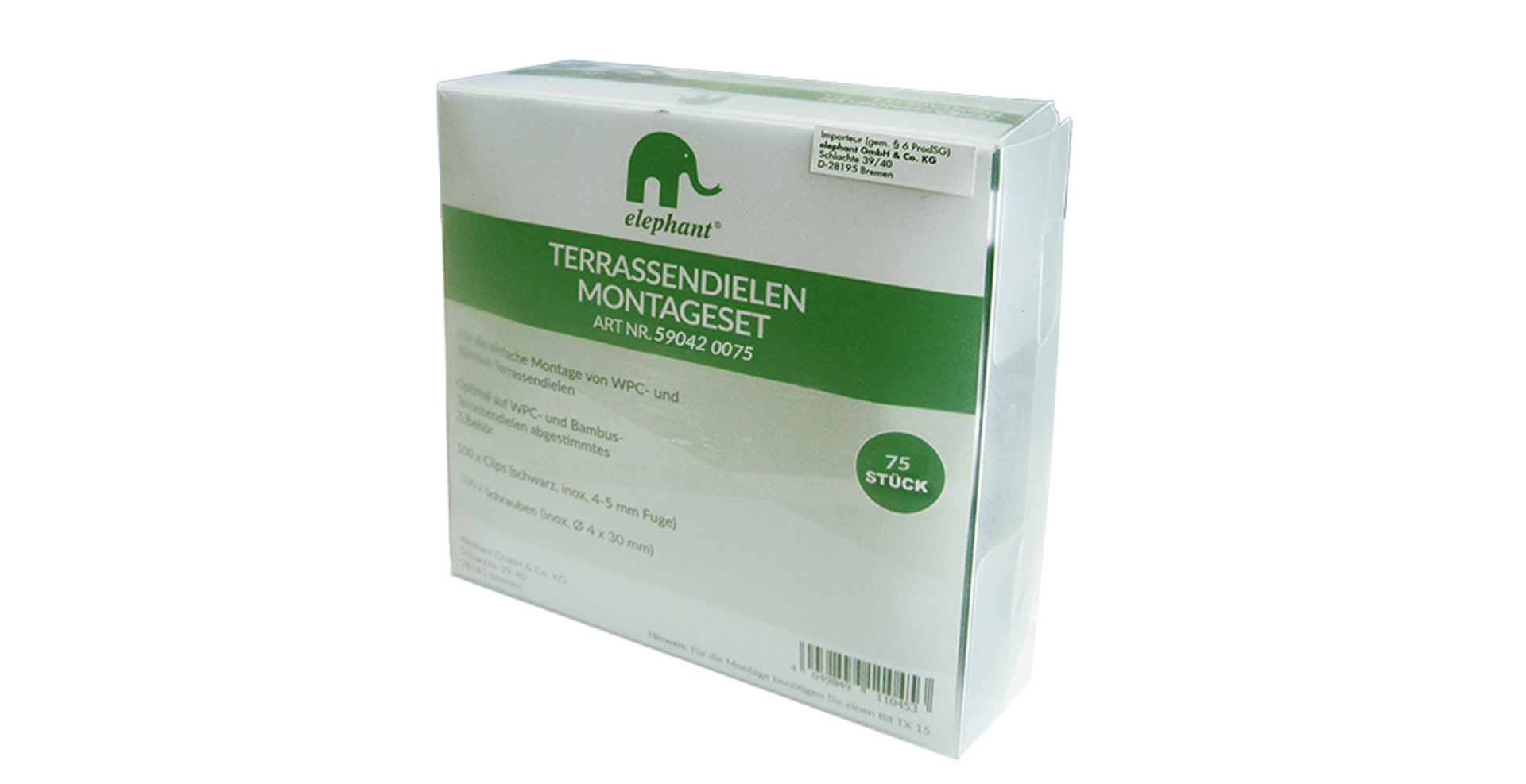 Wpc Terrassendielen Bremen Elephant Accessories