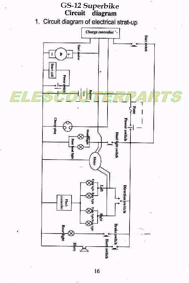 circuit and wiring diagram basic wiring diagram monkey bike