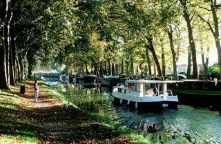 Toulouse lakóautóval - Canal du Midi hajóval