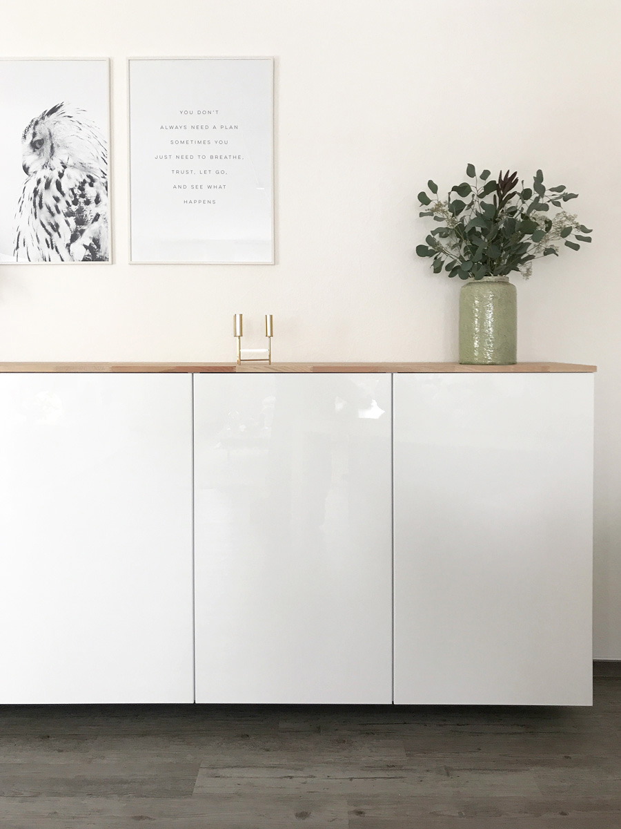 Ikea Hack Metod Küchenschrank Als Sideboard Elfenweiss Create Something Beautiful