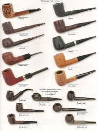 All Alfred Dunhill Pipes from El Fumador
