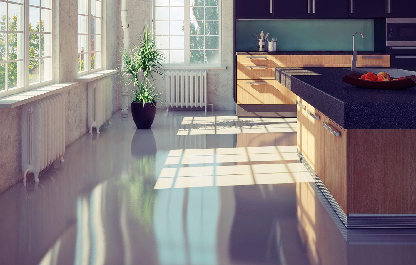 Fußboden Für Küche ~ Fußboden küche linoleum designboden in der küche der partner für