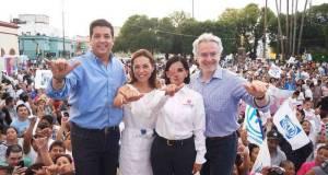Santiago Creel Miranda respalda la campaña de Francisco García Cabeza de Vaca.