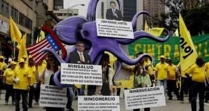 Las manifestaciones del 1 de mayo tuvieron lugar este domingo en todo el mundo.