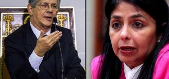 Lo que dijo Ramos Allup luego que le negaran la visa de EE.UU. a Delcy Rodríguez