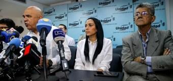 El comunicado de la MUD ante decisión del TSJ contra la Asamblea Nacional