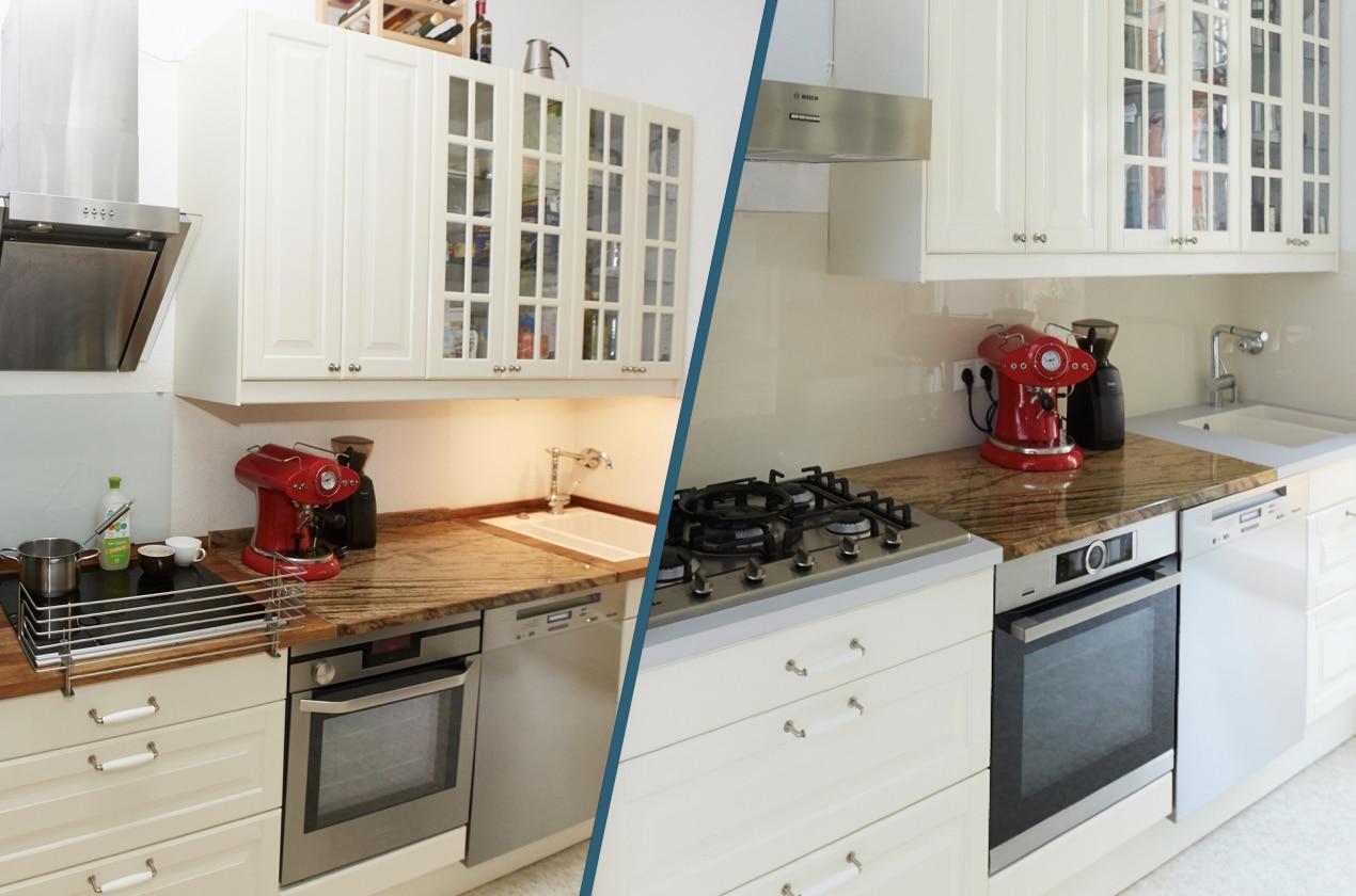 Alte Küche Streichen Vorher Nachher | Shabby Landhaus Vorher Nachher ...