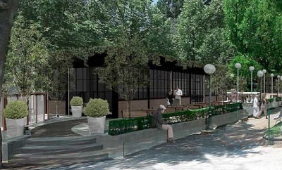 El Parque De La Dehesa Tendra Un Moderno Bar Quiosco