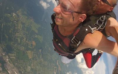 4 Ways Skydiving is Exactly Like Entrepreneurship