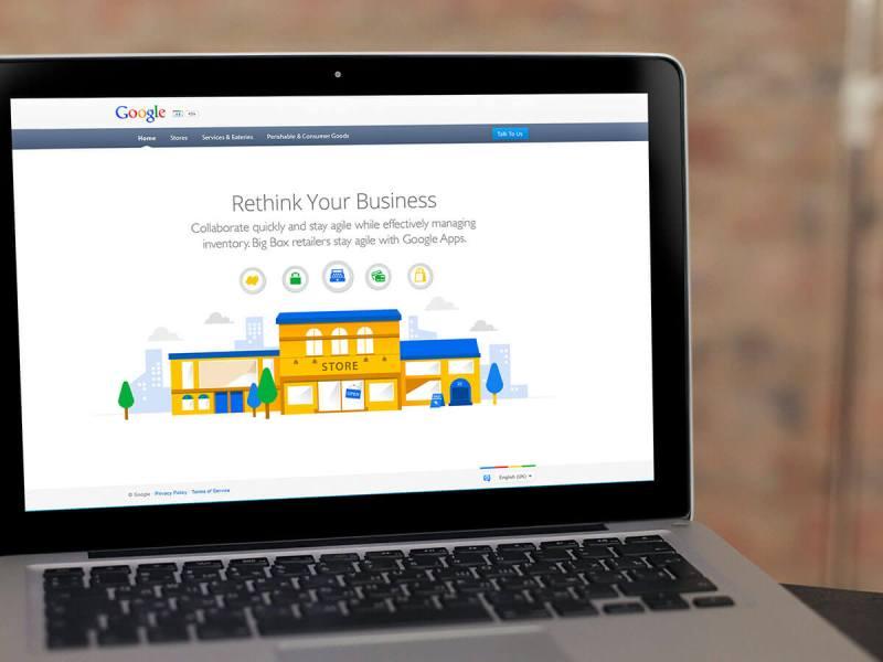 Retail has gone Google