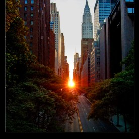 Manhattanhenge, New York, NY, USA