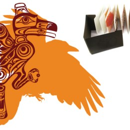 Spirituality Letterpress Book raven illustration