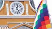 La Paz, Bolivia. Disculpe, ¿qué hora es?