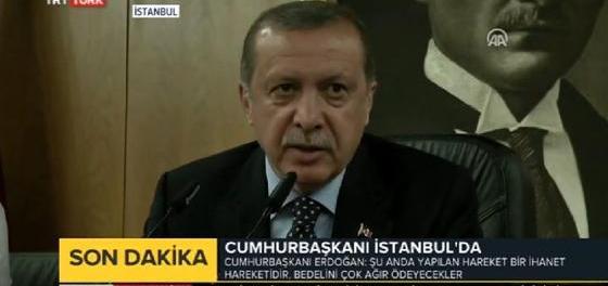 Erdogan: la venganza será terrible
