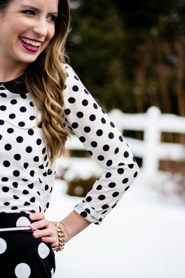 5 Ways   Pattern Mixing with Polka Dots Elisabeth McKnight