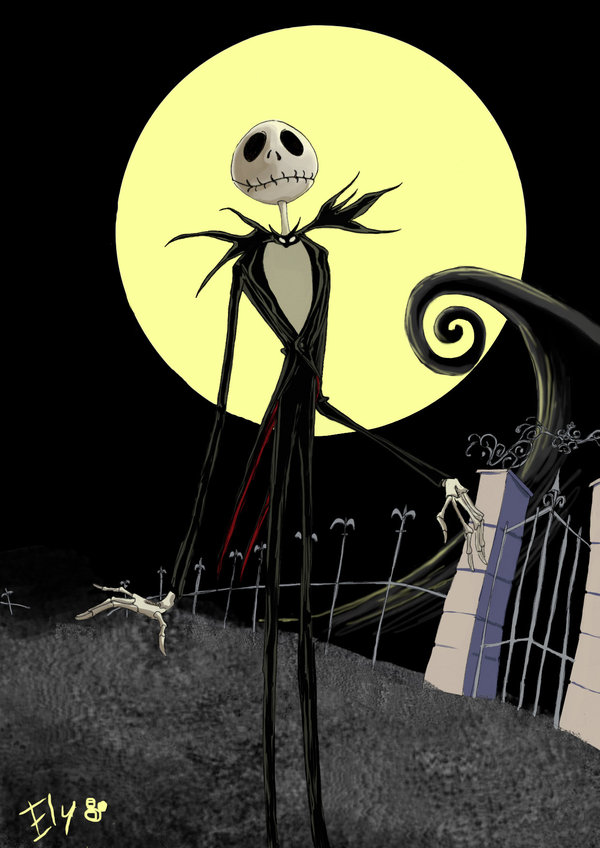 Jack Skellington Iphone Wallpaper Re Del Blu Re Del Mai Elisacristantielli S Blog