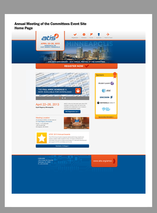 Image of the layout created by the designer for the home page example.