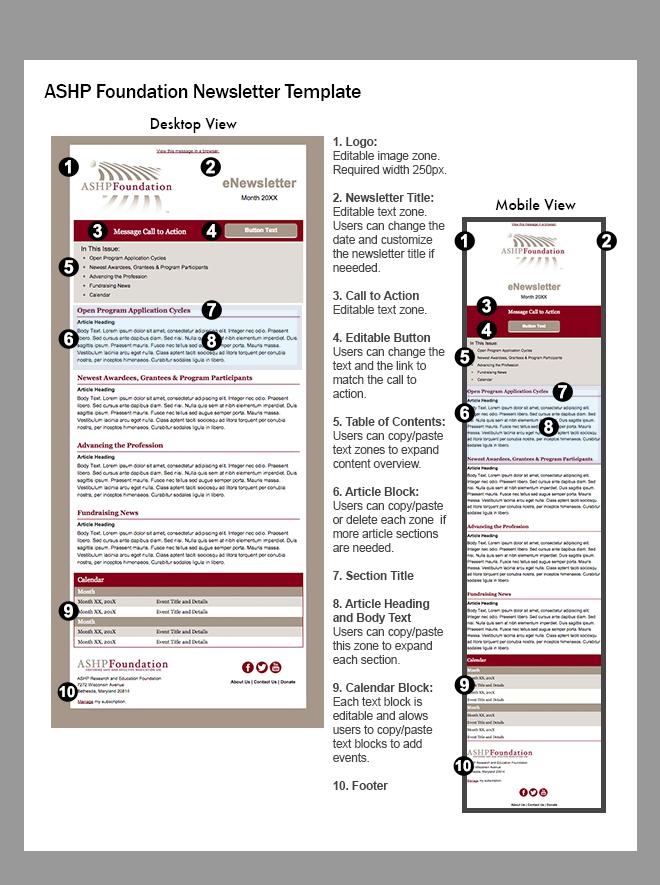 Newsletter Visual Guide