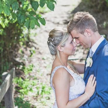 Mariage au bord du lac