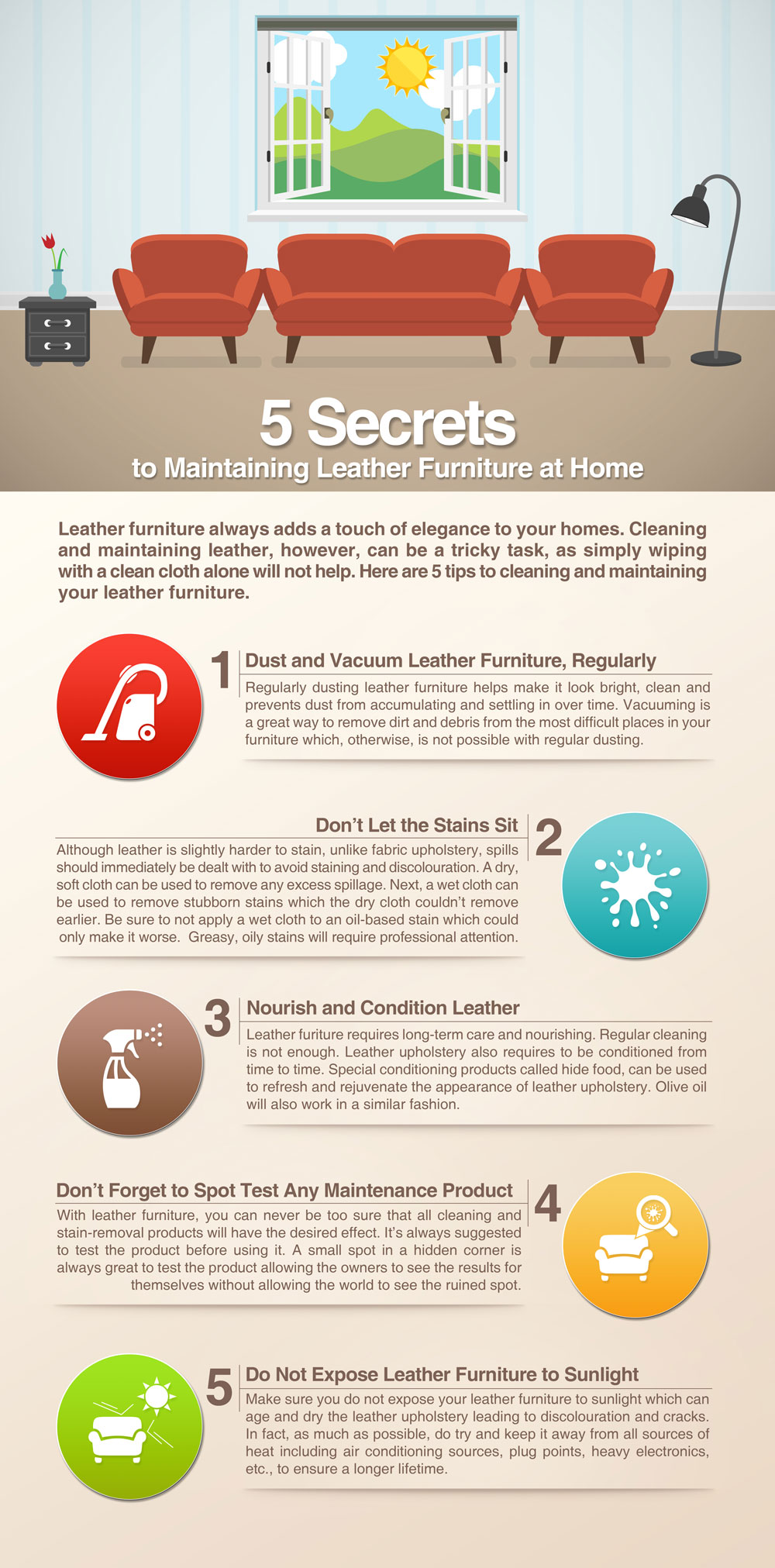 How To Dry Clean Sofa At Home 5 Secrets To Maintaining Leather Furniture At Home Sofa Cleaning