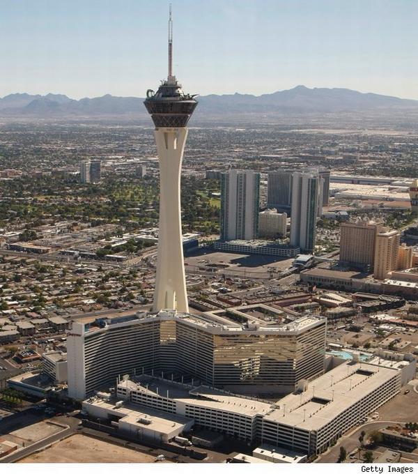 Elite Estate Stratosphere Hotel in Las Vegas Features Sky Jump