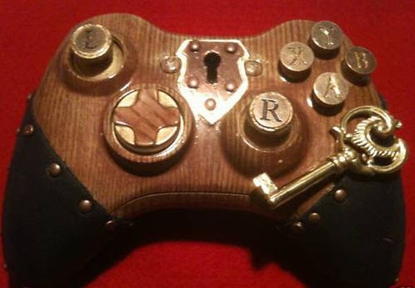 Can You Design Xbox Elite Controller Custom Steampunk Xbox 360 Controller Now Up For Auction On