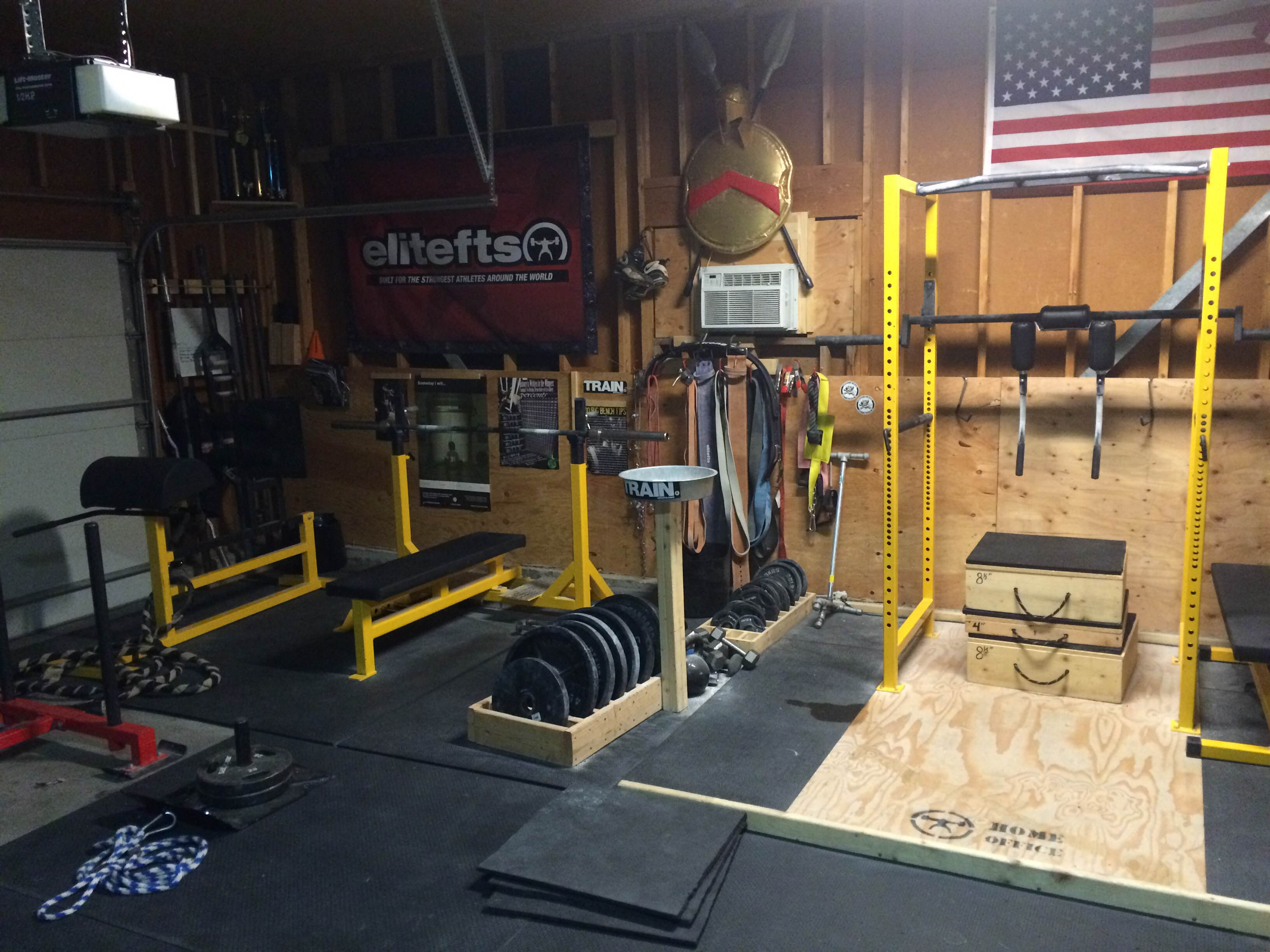 Garage Gym With Car Building The Executive Meathead S Home Office Elite Fts